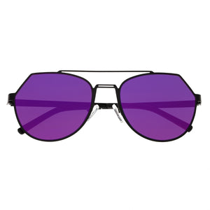 Bertha Hadley Sunglasses - Black/Purple-Pink - BRSBR021B