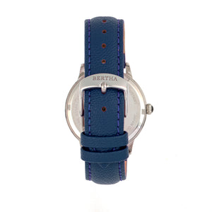 Bertha Dolly Leather-Band Watch - Blue  - BTHBS1002