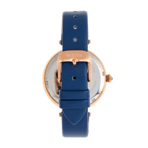 Bertha Micah Leather-Band Watch - Navy - BTHBR9408