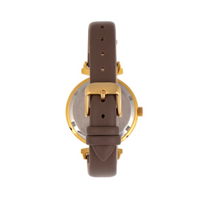 Bertha Jasmine Leather-Band Watch - Grey - BTHBR9603