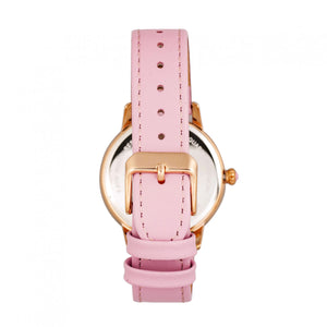 Bertha Adaline Mother-Of-Pearl Leather-Band Watch - Pink - BTHBR8206