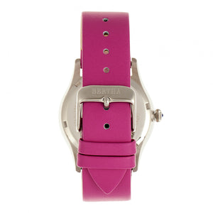 Bertha Annabelle Leather-Band Watch - Pink - BTHBR9203