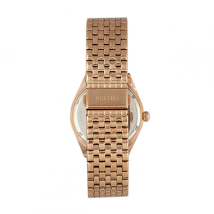 Bertha Ericka MOP Bracelet Watch - Rose Gold - BTHBR7203