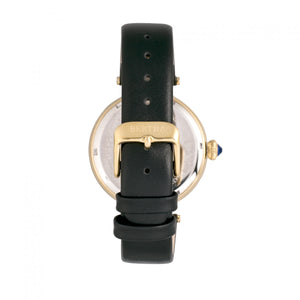 Bertha Rosie Leather-Band Watch - Gold/Black - BTHBR8803
