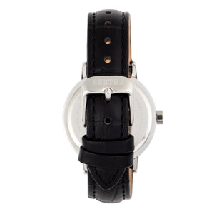 Bertha Cecelia Leather-Band Watch - Black  - BTHBR7501