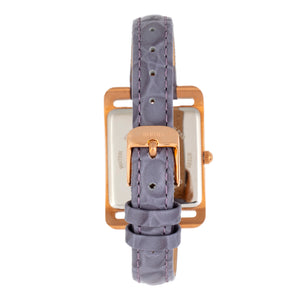 Bertha Marisol Swiss MOP Leather-Band Watch - Lavender - BTHBR6905