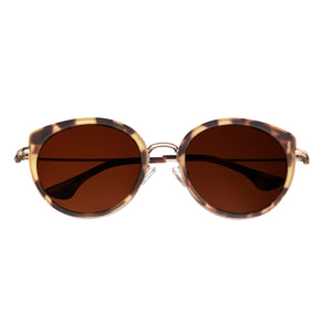 Bertha Reese Polarized Sunglasses - Tortoise/Brown - BRSBR044BK