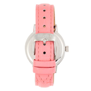 Bertha Cecelia Leather-Band Watch - Pink  - BTHBR7502