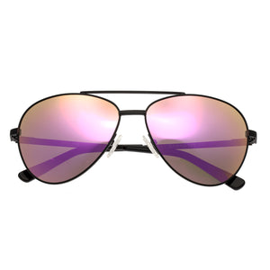 Bertha Bianca Polarized Sunglasses - Black/Pink - BRSBR020B