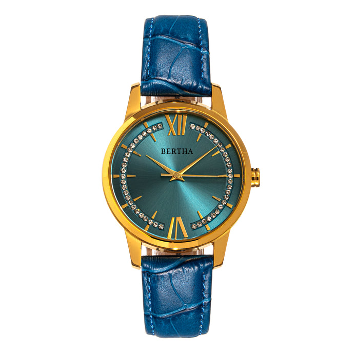Bertha Prudence Leather-Band Watch - BTHBS1402