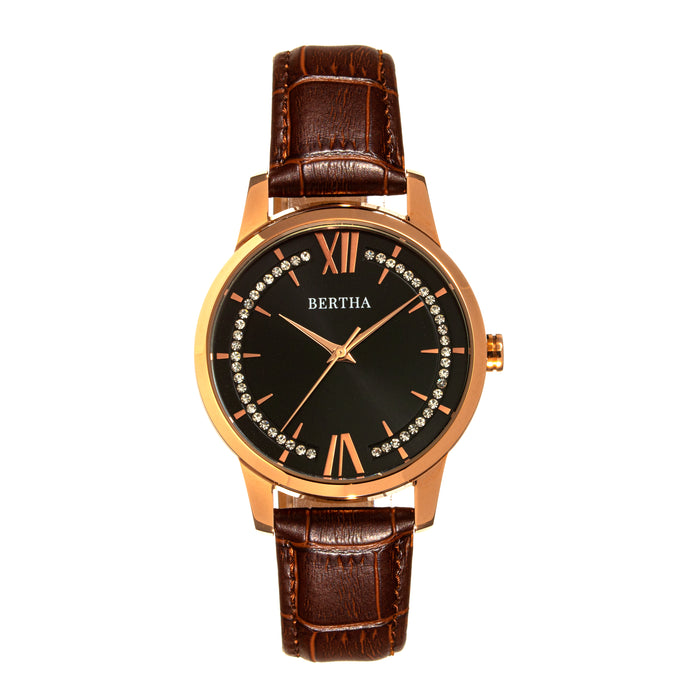 Bertha Prudence Leather-Band Watch - BTHBS1404