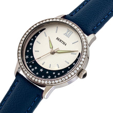 Load image into Gallery viewer, Bertha Dolly Leather-Band Watch - Blue  - BTHBS1002