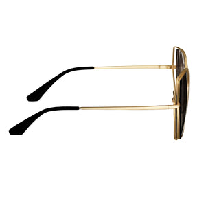 Bertha Remi Polarized Glasses - Gold/Black - BRSBR034GY