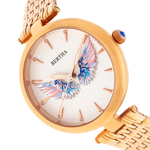 Bertha Micah Bracelet Watch - Rose Gold - BTHBR9403