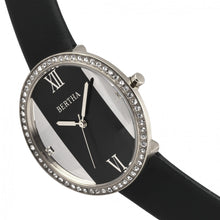 Load image into Gallery viewer, Bertha Ingrid Leather-Band Watch - Black - BTHBR9101