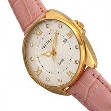 Load image into Gallery viewer, Bertha Amelia Leather-Band Watch w/Date - Light Pink - BTHBR6305