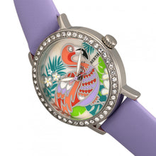 Load image into Gallery viewer, Bertha Luna Mother-Of-Pearl Leather-Band Watch - Lavender - BTHBR7701