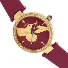 Load image into Gallery viewer, Bertha Nora Leather-Band Watch - Fuchsia  - BTHBR8506