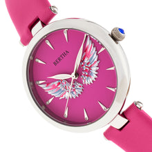 Load image into Gallery viewer, Bertha Micah Leather-Band Watch - Pink - BTHBR9405