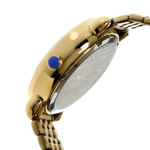 Bertha Alexandra MOP Ladies Bracelet Watch - Gold/Blue - BTHBR4702