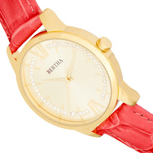 Load image into Gallery viewer, Bertha Prudence Leather-Band Watch - Pink - BTHBS1403
