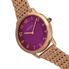Load image into Gallery viewer, Bertha Abby Swiss Bracelet Watch - Rose Gold/Fuchsia - BTHBR6804