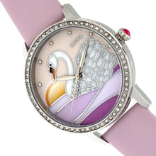 Load image into Gallery viewer, Bertha Grace MOP Leather-Band Watch - Light Pink - BTHBR9002