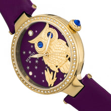 Load image into Gallery viewer, Bertha Rosie Leather-Band Watch - Gold/Purple - BTHBR8804
