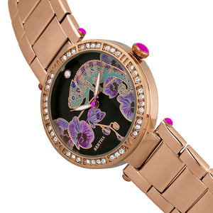 Bertha Camilla Mother-Of-Pearl Bracelet Watch - Rose Gold - BTHBR6203