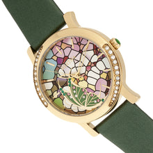 Load image into Gallery viewer, Bertha Vanessa Leather Band Watch - Green - BTHBR8704