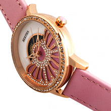 Load image into Gallery viewer, Bertha Adaline Mother-Of-Pearl Leather-Band Watch - Pink - BTHBR8206