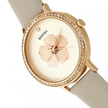 Load image into Gallery viewer, Bertha Delilah Leather-Band Watch - Rose Gold/Grey - BTHBR8605