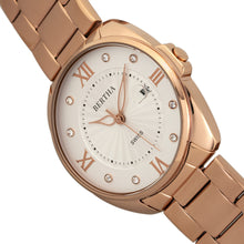 Load image into Gallery viewer, Bertha Amelia Bracelet Watch w/Date - Rose Gold - BTHBR6303