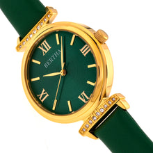Load image into Gallery viewer, Bertha Jasmine Leather-Band Watch - Green - BTHBR9604