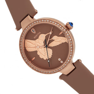 Bertha Nora Leather-Band Watch - Tuscan - BTHBR8507