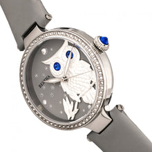Load image into Gallery viewer, Bertha Rosie Leather-Band Watch - Silver/Grey - BTHBR8801