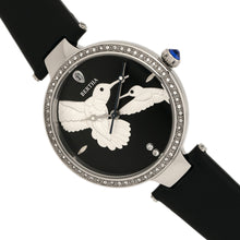 Load image into Gallery viewer, Bertha Nora Leather-Band Watch - Black - BTHBR8504