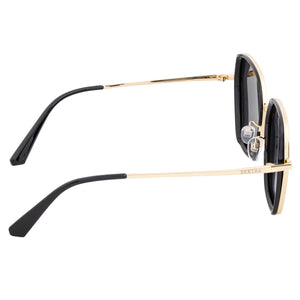 Bertha Emilia Polarized Sunglasses - Gold/Black - BRSBR037BK