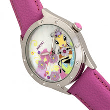 Load image into Gallery viewer, Bertha Ericka MOP Leather-Band Watch - Light Pink - BTHBR7204