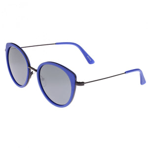 Bertha Sasha Polarized Sunglasses - Blue/Black - BRSBR030BK