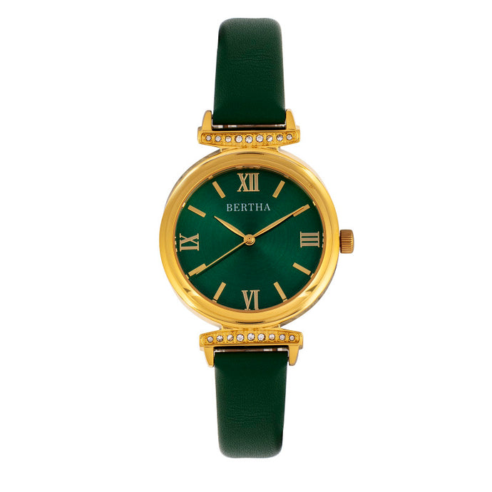 Bertha Jasmine Leather-Band Watch - BTHBR9604