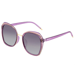 Bertha Jade Polarized Sunglasses - Purple/Black - BRSBR042PU