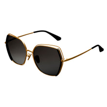 Load image into Gallery viewer, Bertha Remi Polarized Glasses - Gold/Black - BRSBR034GY