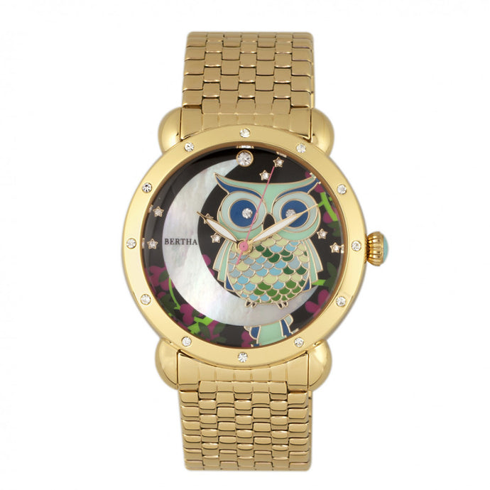 Bertha Ashley MOP Ladies Watch - BTHBR3009