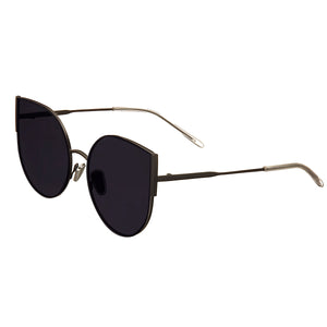 Bertha Logan Polarized Sunglasses - Black/Black - BRSBR036BK