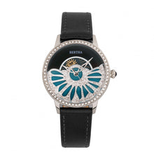 Load image into Gallery viewer, Bertha Adaline Mother-Of-Pearl Leather-Band Watch - Black - BTHBR8201