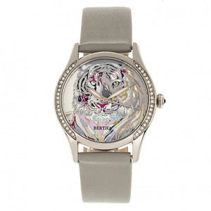 Bertha Annabelle Leather-Band Watch