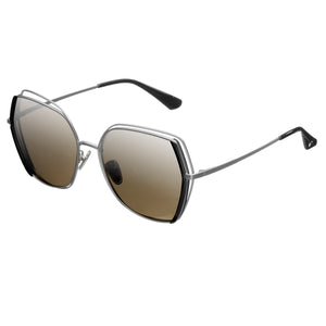 Bertha Remi Polarized Glasses - Silver/Silver - BRSBR034SL