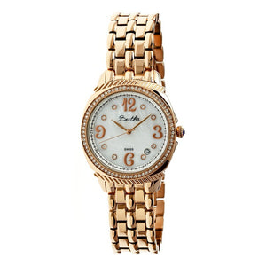 Bertha Samantha MOP Ladies Swiss Bracelet Watch