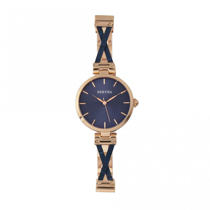 Bertha Amanda Criss-Cross Ladies Watch - BTHBR7605